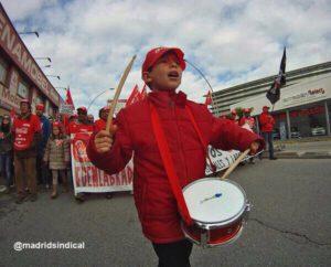 En homenaje a los trabajadores de Coca-Cola